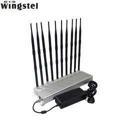 GSM sans fil 2G 3G 4G WiFi GPS Bluetooth Radio cellulaire Lojack signal brouilleur bloqueur de caméra