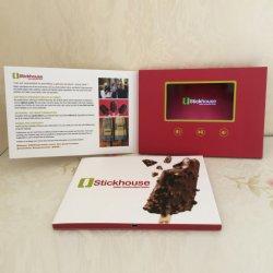 Item promocional convites de Casamento da placa de vídeo placas de vídeo de tela LCD Brochuras