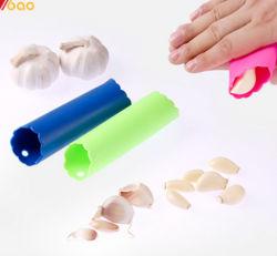 Creative ménage Peeling à l'ail tube silicone Ustensiles de cuisine pour la vente
