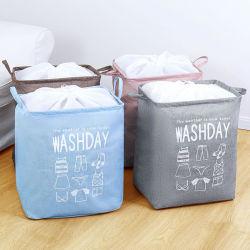 Panier de stockage de jute pendaison Blanchisserie Nettoyage Sacs Suppliesnjute conteneur Accueil