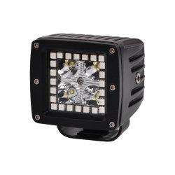 precio de fábrica al por mayor de 24V Control Bluetooth Música Nissan Patrol Y61 3pulgadas 12W de luz de trabajo RGB LED