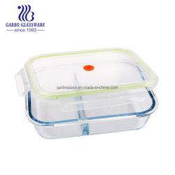 1.5L résistantes à la chaleur en verre Pyrex Boîte à lunch récipient alimentaire GO13G77220g