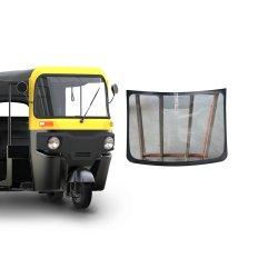 電気三輪車車ガラス3の荷車引きの前部か後部フロントガラスか窓ガラス