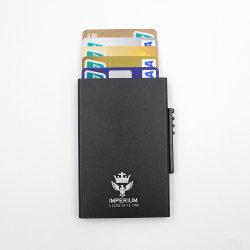 アルミニウム熱い販売RFIDの妨害はクレジットカードのホールダーを押上る
