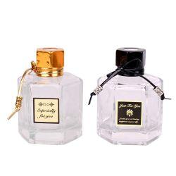 120ml 4 oz Decoração Aroma de aromaterapia Difuser Hexagonal vaso de perfume