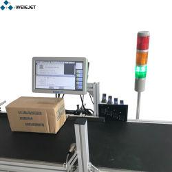 Splendid Smartjet impressão a jato de tinta Impressora Código Two-Dimensional variável para a Madeira/Caixa Grande, cosméticos e material de construção de máquina de cartuchos de tinta