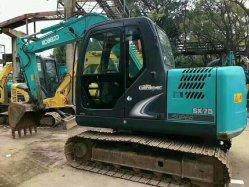 Excavadora Kobelco SK75 usado en buenas condiciones de venta