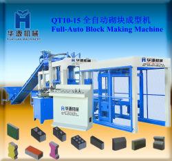 Мониторинг интервала QT10-15 Строительное оборудование строительные материалы, производстве кирпича машины