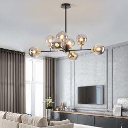 Nordic LED Kronleuchter modernes Wohnzimmer Esszimmer Küche Ball Decke Hängelampe für in the Hall Loft Home Decor Light Halterung