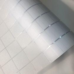 3D de texture gravée motif imprimé de la vie privée Salle de bains en verre dépoli Window Film adhésif pour la maison porte coulissante