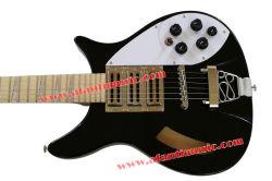 El arce de cuerpos huecos Afanti estilo Rick Fretboard Guitarra eléctrica