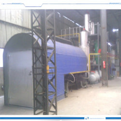 オイルを得る新しく連続的な廃棄物処理の熱分解装置