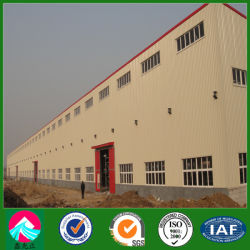 Parapet Wall (XGZ-SSW005)를 가진 건축 Pre-Engineered Steel Structure Workshop