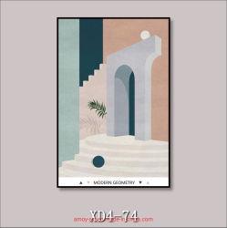 La moderna geometría Color Morandi Impresiones de lienzo para decoración del hogar