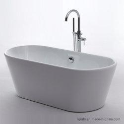 Vente chaude baignoire acrylique autostable moderne 1200-1700mm