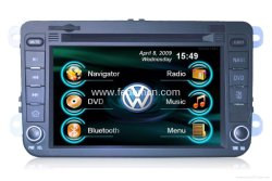 Reproductor de DVD de coche navegación GPS con cabeza de Radio de auto estéreo Unidad para VW B6 /Magotan (C7010VM)