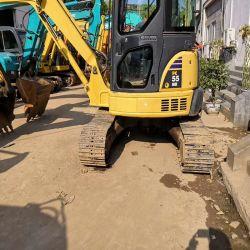 Estado de funcionamiento usadas de excavadora Komatsu 55Sr.