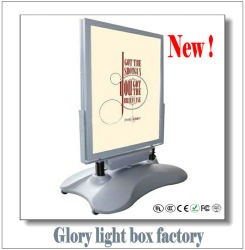 Batteries Power를 가진 호리호리한 Light Box