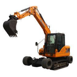 Macchina movimento terra pesante ruota e cingolato Trench escavatore Macchina Digger