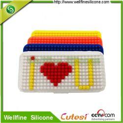 Bloc pour l'iPhone5 capot/Puzzles de protection en silicone pour iPhone5 de couvercle de carter