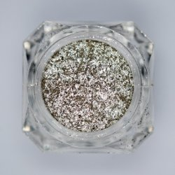 Pigmento cosmético Pearl V200 de hojuelas de cristal de plata pura efecto espejo revestimiento Nail Art