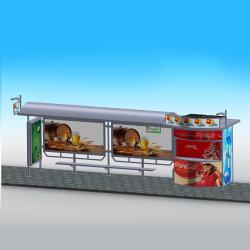Guter Blick Alluminum im Freienbekanntmachenbus-Schutz mit Sonnensystem