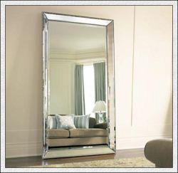 En forme de courbe à plat //Silver mirror/miroir mirror/verre de couleur