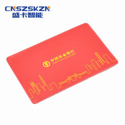 La norma ISO14443Regrabable Contacto 13.56MHz Mifare DESFire EV1 de la tarjeta de 4K.