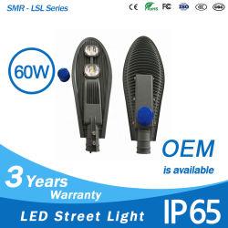 세륨 RoHS 60W IP65는 Brigelux 옥수수 속 LED Solor 가로등을 방수 처리한다