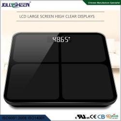 La alta precisión de 0,01 kg 180kg Últimas Báscula de baño con cristal templado Báscula de plataforma