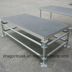高品質鋼製移動式段優れた鋼製段