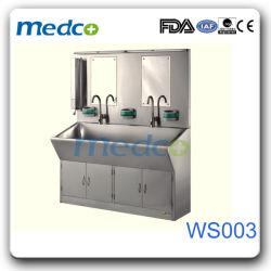 Hospital 304# lado Duplo de Aço Inoxidável Dissipador de lavar roupa, máquinas de lavar loiça