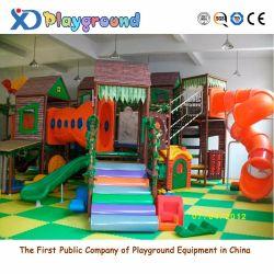 Parque Infantil interior Amusement Naughty Castle para crianças (XJ5060)