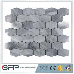 Baumaterial Hexagon Marmor Mosaik für Bodenfliesen