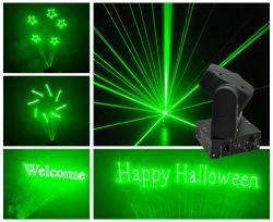 Luce laser verde di animazione della Spostare-Testa della discoteca per la festa di Natale