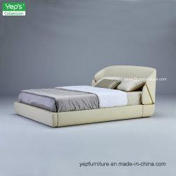 Новое в итальянском стиле минимализм True кожаные кровати (YS078)