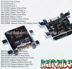 Ursprüngliche Qualitätsmobiler Aufladeeinheits-Verbinder für Samsung