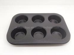 Venda a quente de aço carbono retangular Muffin Bandeja para assar o Molde