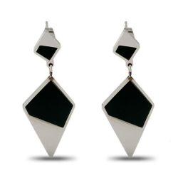 Orecchini A Diamante New Women Jewelry Fashion Long Titanium Steel