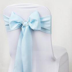 結婚披露宴および式のためのポリエステル椅子のサッシュのちょうネクタイ