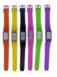 ترويجيّ رخيصة سليكوون لطم نطاق جدي ساعة لطم [روبّر بند] [ديجتل] [لد] معصم أطفال ساعة لأنّ جديات