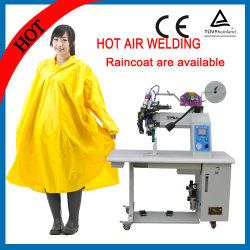 Ar quente usado da cinta de PE/PVC que solda a máquina impermeável da selagem da emenda