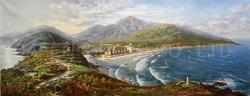 Peinture de paysage classique sur l'huile