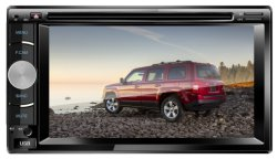 도매 유니버설 2 DIN Am/Bluetooth/USB를 가진 6.2 인치 접촉 스크린 차 DVD 플레이어 차 오디오