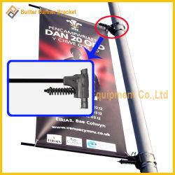 Rue lumière métal Système de suspension de la publicité de pôle d'un drapeau (UNA80)
