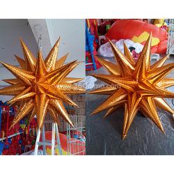 O IW202 Estrela de decoração com luz LED para pendurar inflável Estrela da Luz