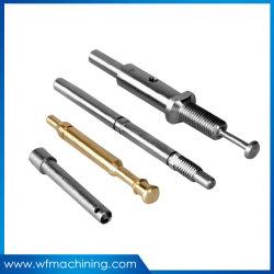 기계로 가공을%s 가진 OEM 알루미늄 또는 구리 또는 철 또는 스테인리스 찬 위조 샤프트