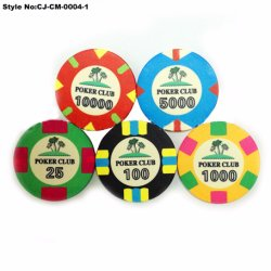 カスタム Cute Plastic Poker Chips