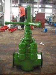 Valvola della bobina d'arresto della valvola a rubinetto della valvola a saracinesca del fango della testa di pozzo del giacimento di petrolio di api 6A