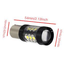 indicatore luminoso di lampadina automatico dell'automobile LED di alto potere LED di 1156 3030 16 SMD LED utilizzato nell'indicatore luminoso di inversione di giro dell'indicatore luminoso